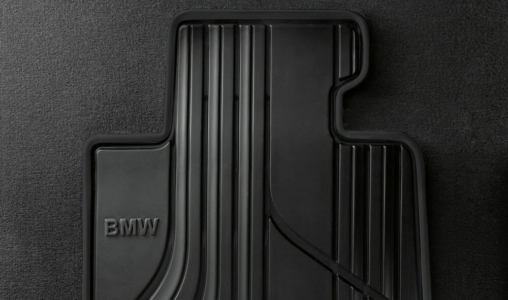 Bmw Genuine All Weather Basis Front Floor Mats 4 Series