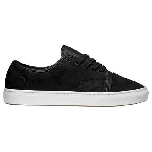 a5510235b0b684 Details about Vans VERSA Black White Oiled Suede Discounted (234) Men s  Skateboarding Shoes