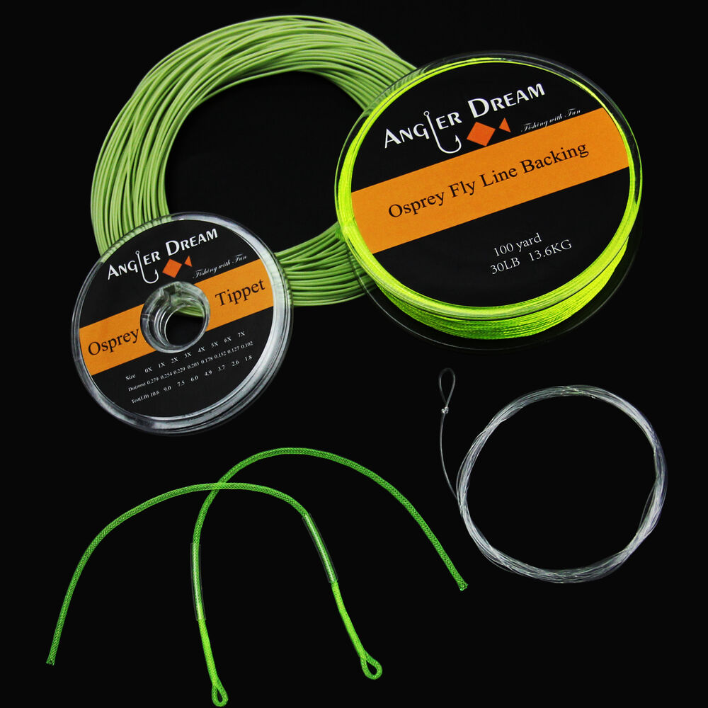 2 3 4 5 6 7 8wt fly line combo 100ft wf fly fishing line for Fly fishing leader