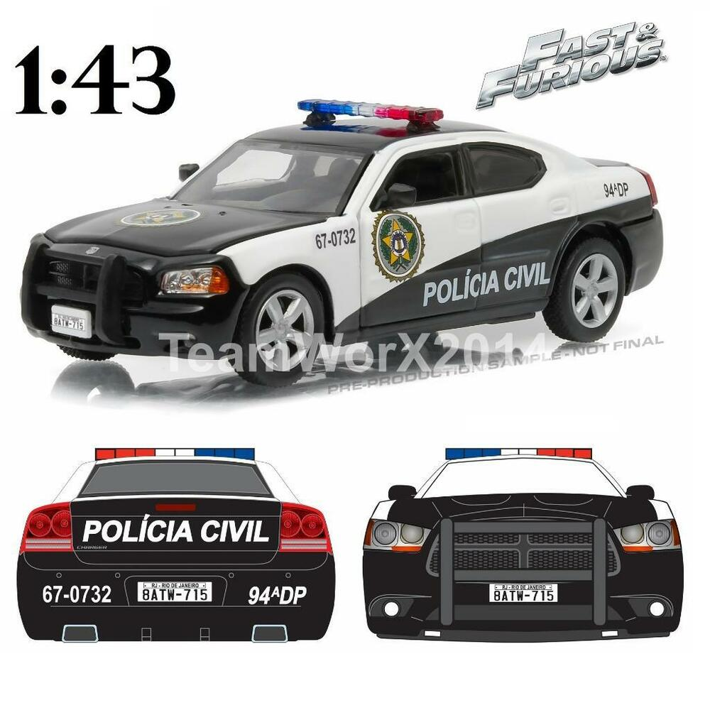 GREENLIGHT 86237 2006 Dodge Charger Fast Five Rio Police