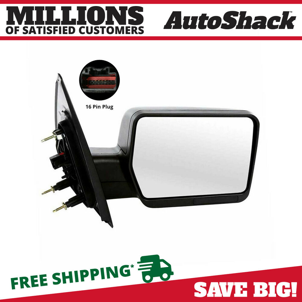 New power right passanger side view mirror 2004 2008 for Power mirror motor repair