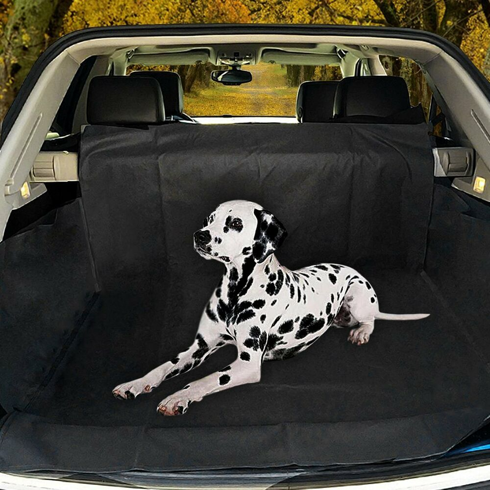 heavy duty car boot liner water resistant lip protector dirt pet dog cover mat ebay. Black Bedroom Furniture Sets. Home Design Ideas