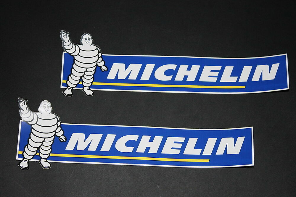 michelin aufkleber sticker decal kleber schriftzug logo. Black Bedroom Furniture Sets. Home Design Ideas
