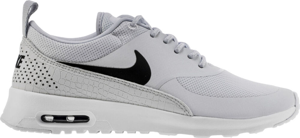 the latest b1b35 d6862 Details about 599409-022 Women s Nike Air Max Thea Shoe!!PURE PLATINUM   BLACK  WHITE !!