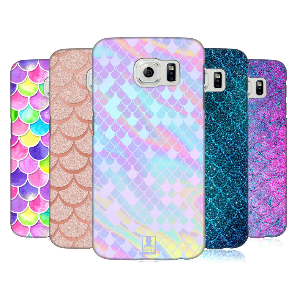 head case designs mermaid scales hard back case for