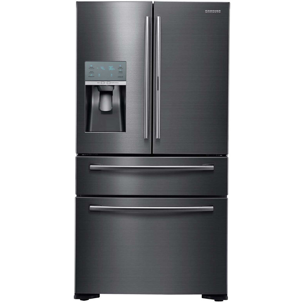 refrigerator cabinet depth samsung 22 black stainless 4 door counter depth 25328