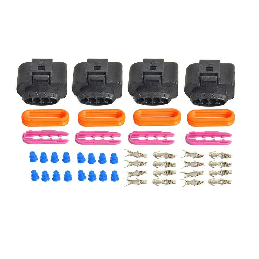 Ignition Coil Wiring Harness Repair Kit : Set ignition coil connector repair kit ic plug audi a
