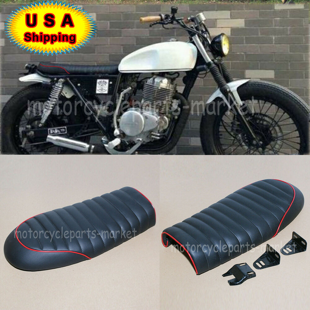 yamaha flat universal cafe racer seat xj 550 650 xs650. Black Bedroom Furniture Sets. Home Design Ideas