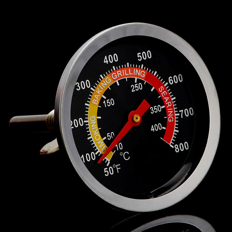 50 400℃ Stainless Steel Bbq Smoker Grill Thermometer
