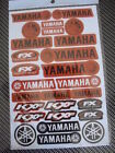 YAMAHA ATV MOTOCROSS STICKER DECAL