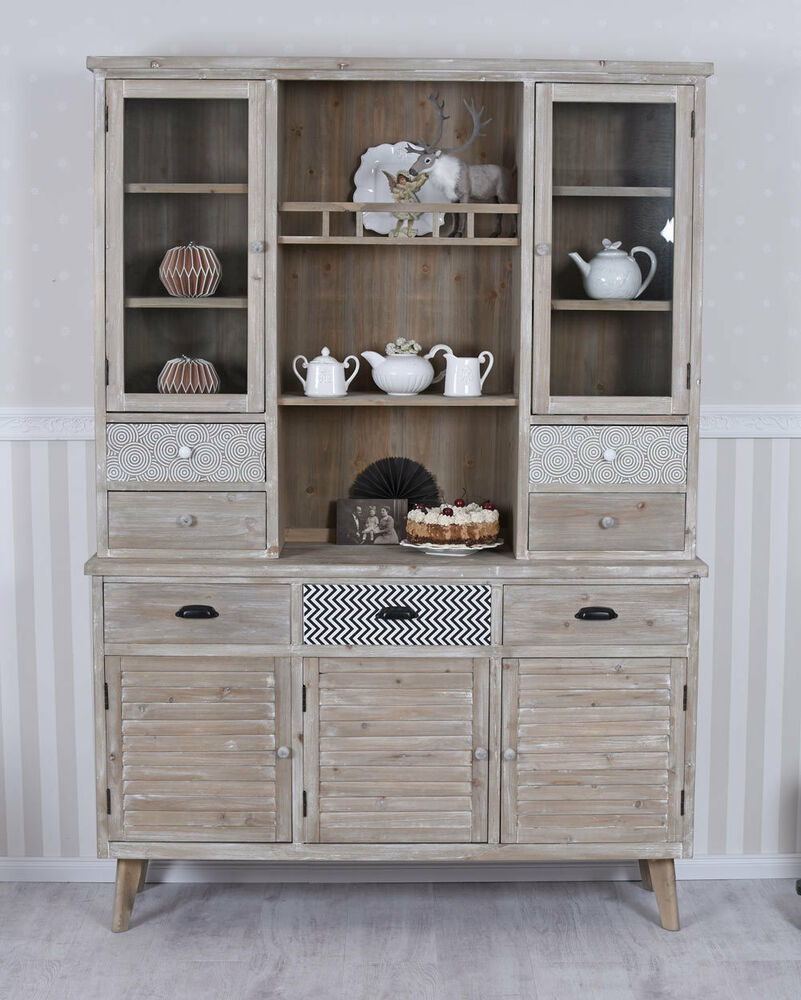 k chenbuffet buffetschrank geschirrschrank antik k chenschrank anrichte buffet ebay. Black Bedroom Furniture Sets. Home Design Ideas