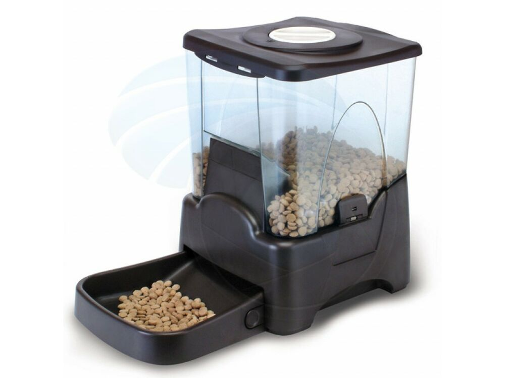 Large Automatic Dry Food Portion Control Dog Cat Pet