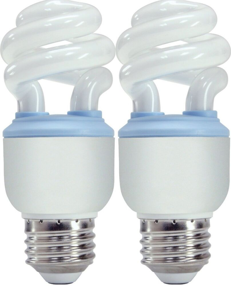 Ge Reveal Spiral Cfl 10 Watt 40 Watt Equivalent Light