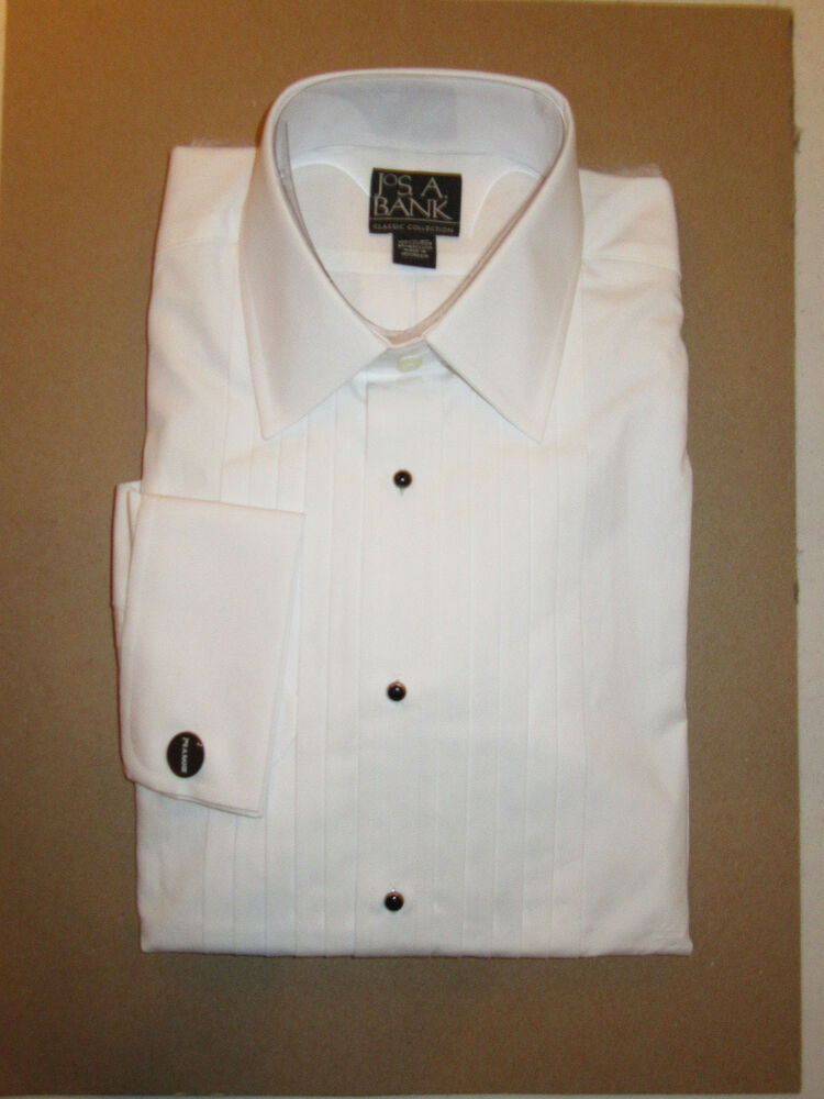 jos a bank classic collection formal tuxedo dress shirt