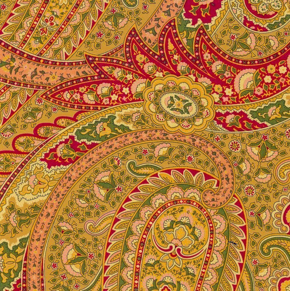 Richloom paisley camel red green home decor drapery for Paisley house