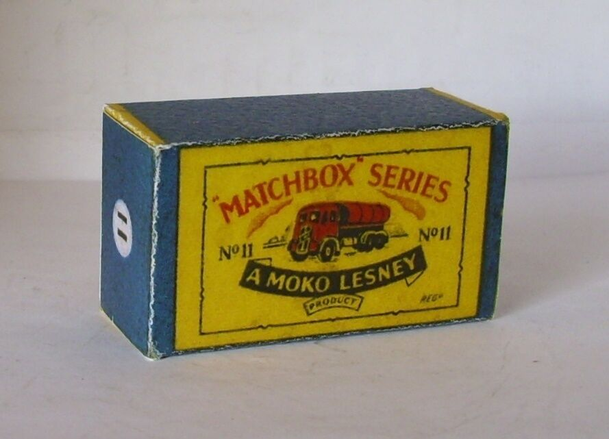 Repro Box Matchbox 1:75 Nr.11 Road Tanker Autos, Lkw & Busse