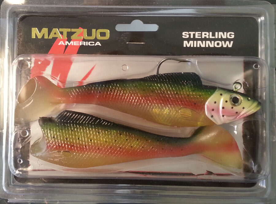 Matzuo sterling minnow swimbait rainbow trout 6 ebay for Matzuo fishing rod