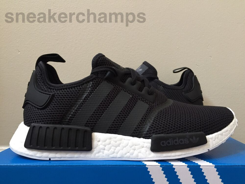 adidas nmd runner r1 black white s79165 size 8 5 limited. Black Bedroom Furniture Sets. Home Design Ideas
