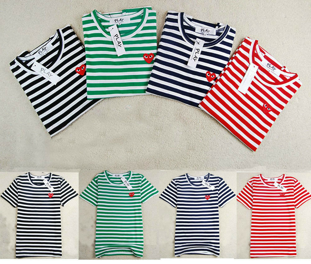 Mens Striped Long Sleeve Shirt