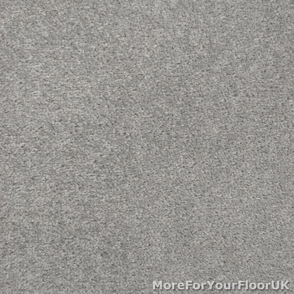 Silver Grey Feltback Twist Bedroom Carpet Cheap Roll Ebay