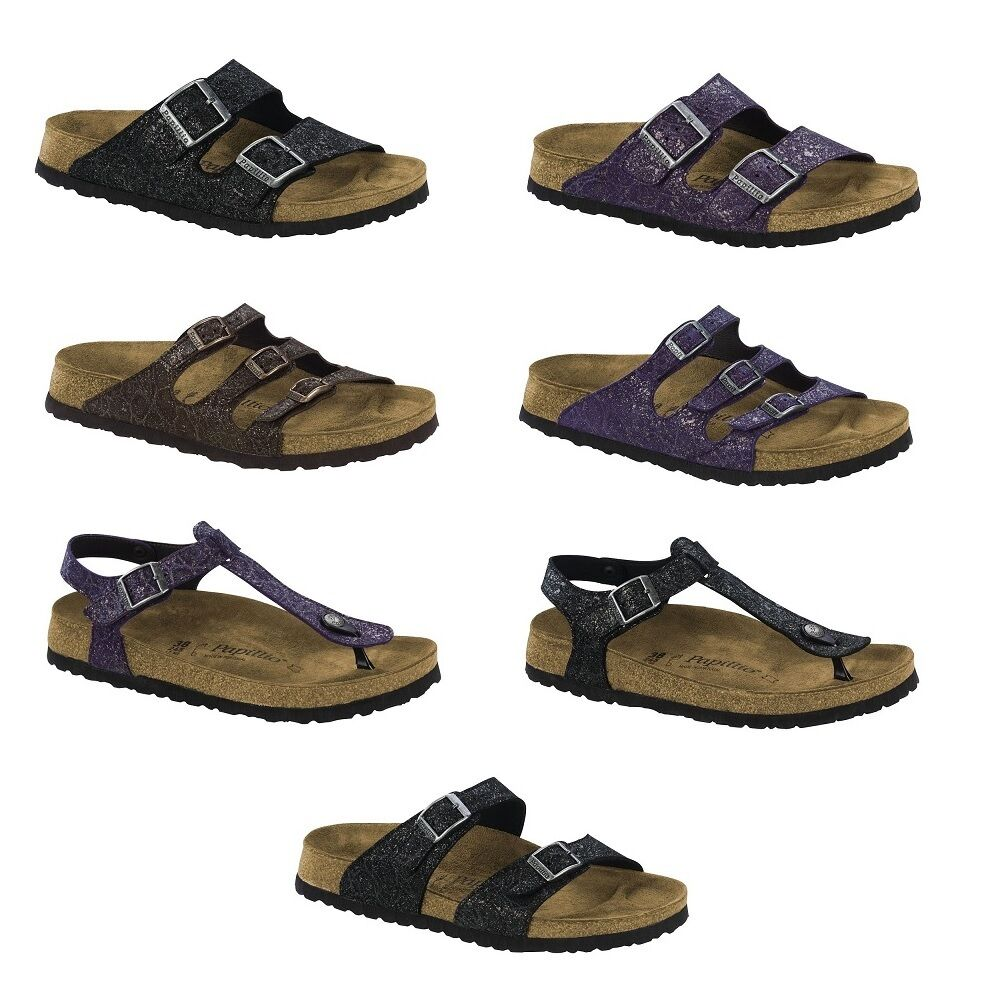 papillio by birkenstock grace brown sydney sandals florida arizona kairo gizeh ebay. Black Bedroom Furniture Sets. Home Design Ideas