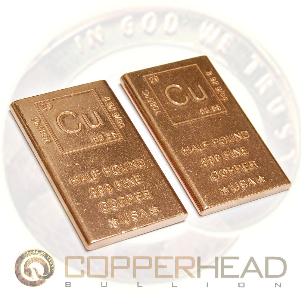 how to sell copper bars