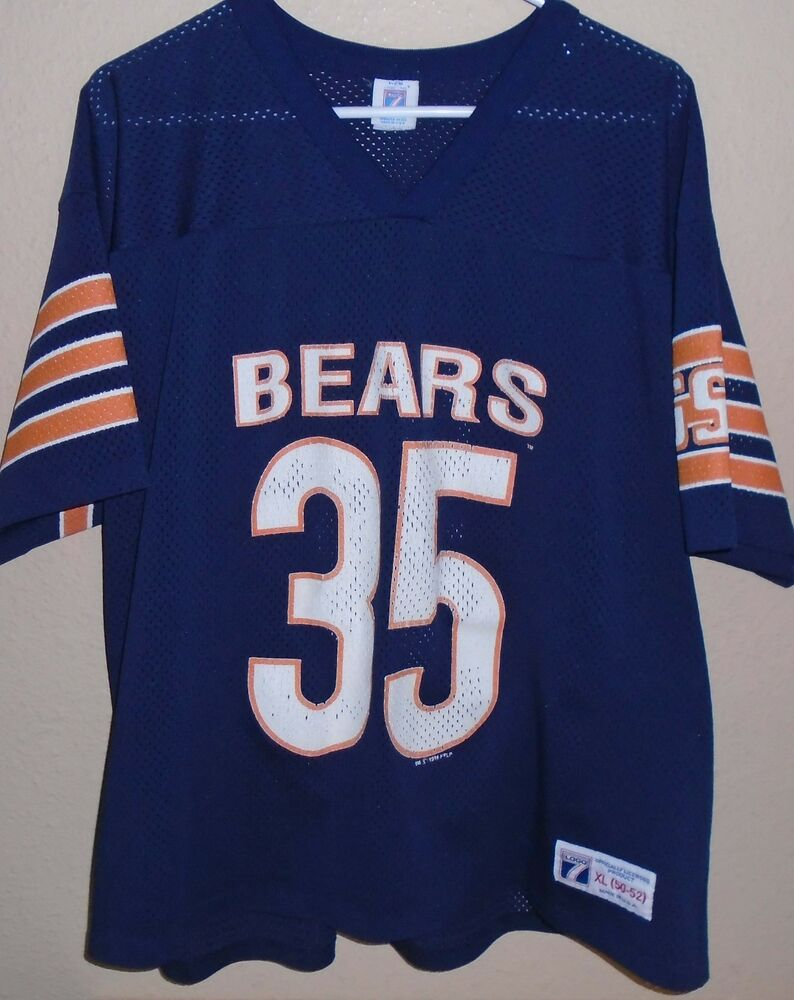 640d92373 Vtg 80s NFL CHICAGO BEARS  35 NEAL ANDERSON Logo 7 Jersey Size XLarge