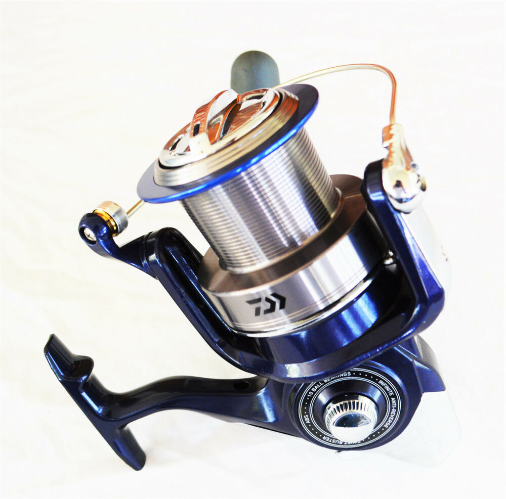 Daiwa emcast plus saltwater surf fishing spinning reel for Surf fishing reel