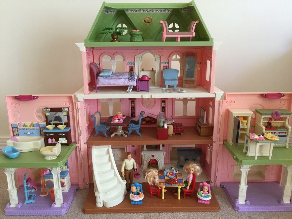Fisher Price Loving Family Grand Dollhouse Furniture Modern Home