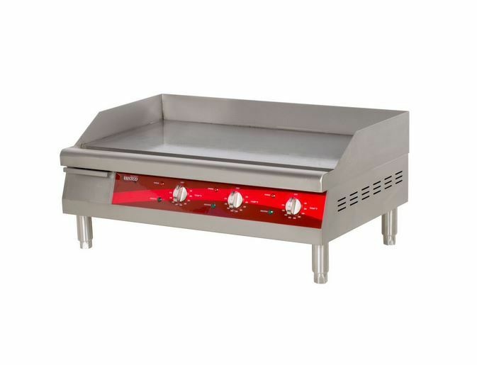 Commercial Flat Griddle Grill ~ Commercial duty kitchen quot electric countertop flat top