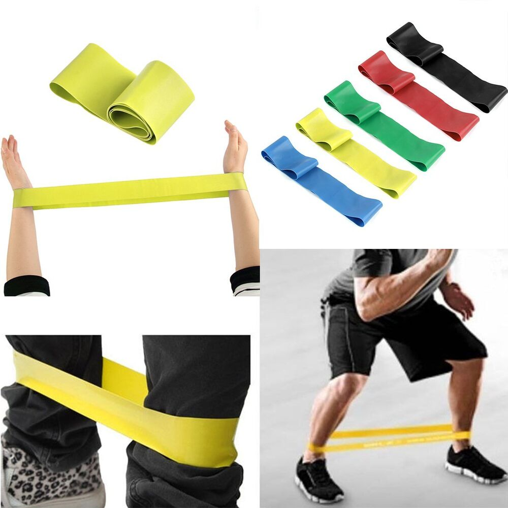 Workout Bands Com: Sport Resistance Loop Band Exercise Yoga Bands Rubber