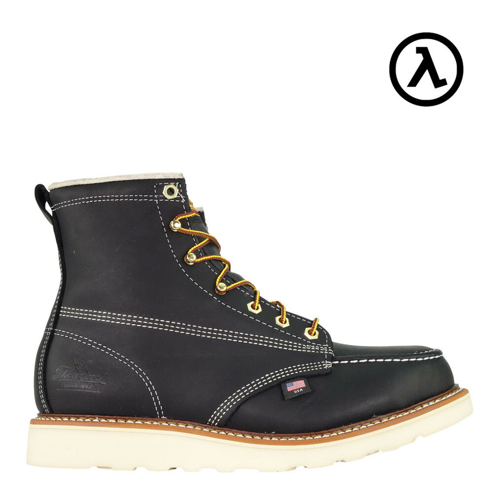 880d5345282e Details about THOROGOOD AMERICAN HERITAGE MOC TOE ST EH WEDGE WORK BOOTS  804-6201 - ALL SIZES