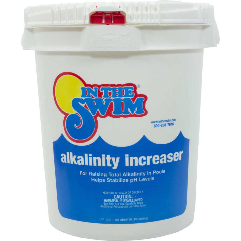 In The Swim Alkalinity Increaser Up Plus For Swimming Pool 50 Lb Pail Ebay