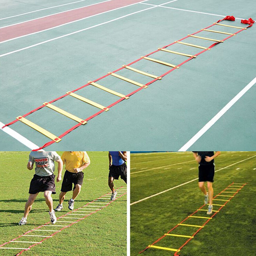 Durable 12 Rungs 6M Agility Ladder for Soccer Football Speed Feet Training Skill