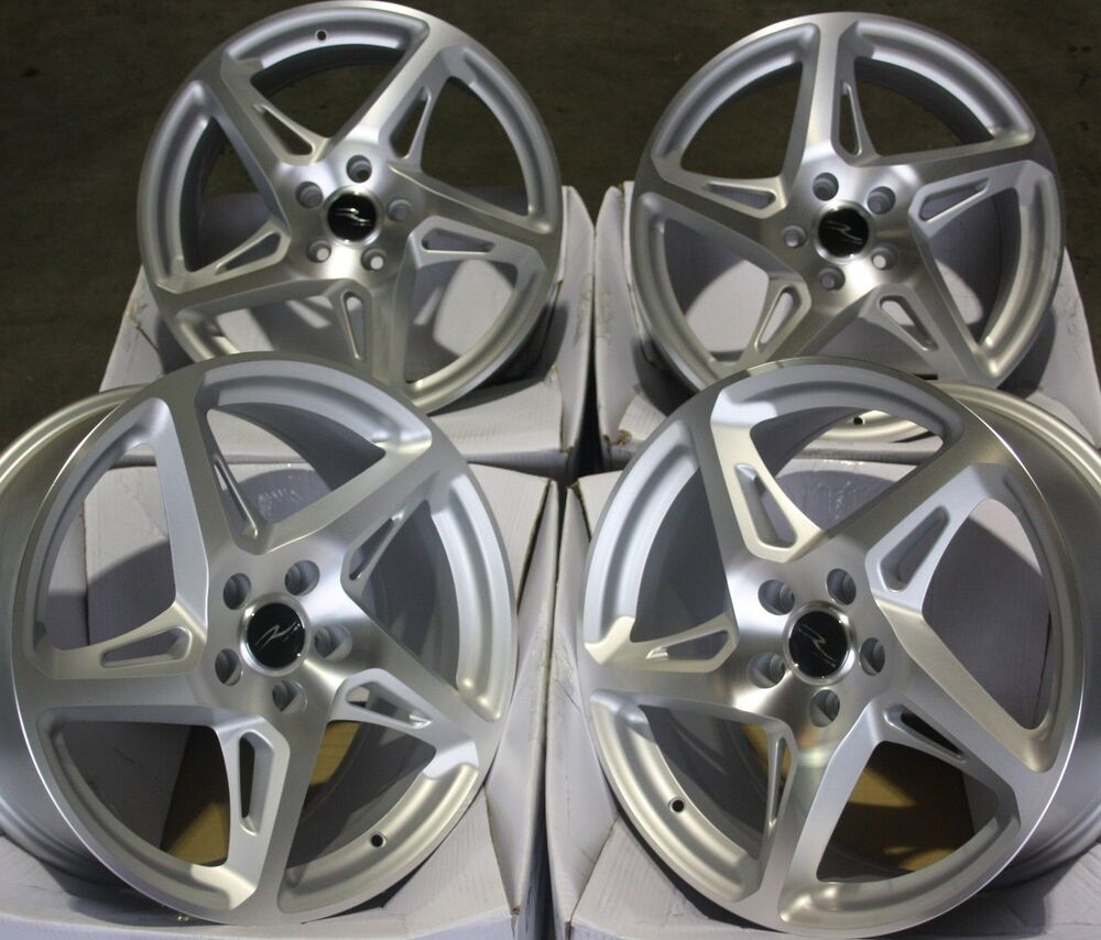 "18"" SMF R-4 ALLOY WHEELS FITS 5X98 ALFA ROMEO 147 156 164"