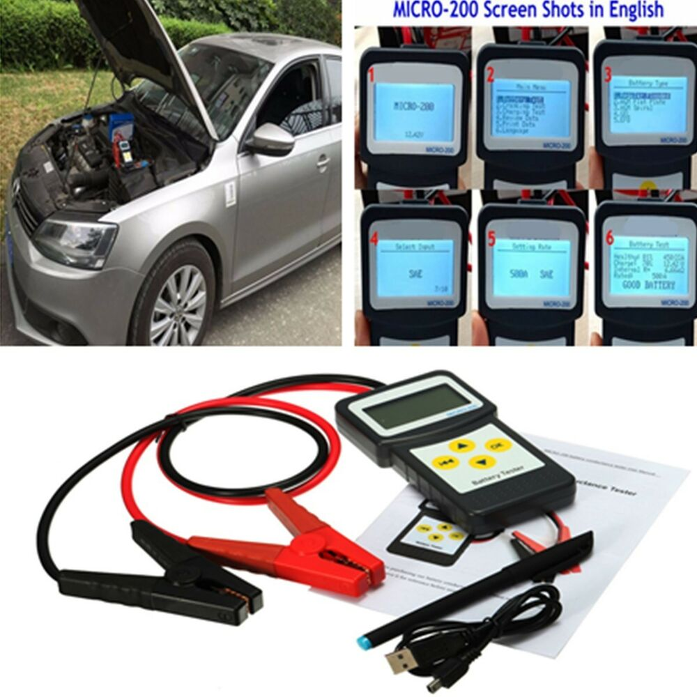 car battery tester 30 200ah auto battery load analyzer. Black Bedroom Furniture Sets. Home Design Ideas