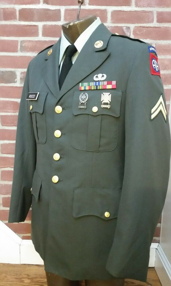 Nd airborne class a uniform all