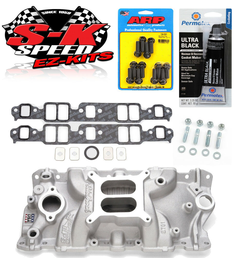 Edelbrock 2701 Small Block Chevy Performer Intake Manifold