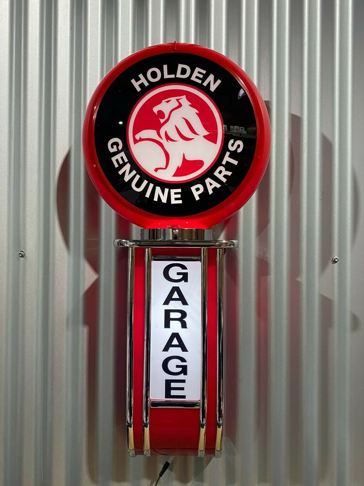 Man Cave Signs That Light Up : Holden genuine parts light up garage sign perfect bar man