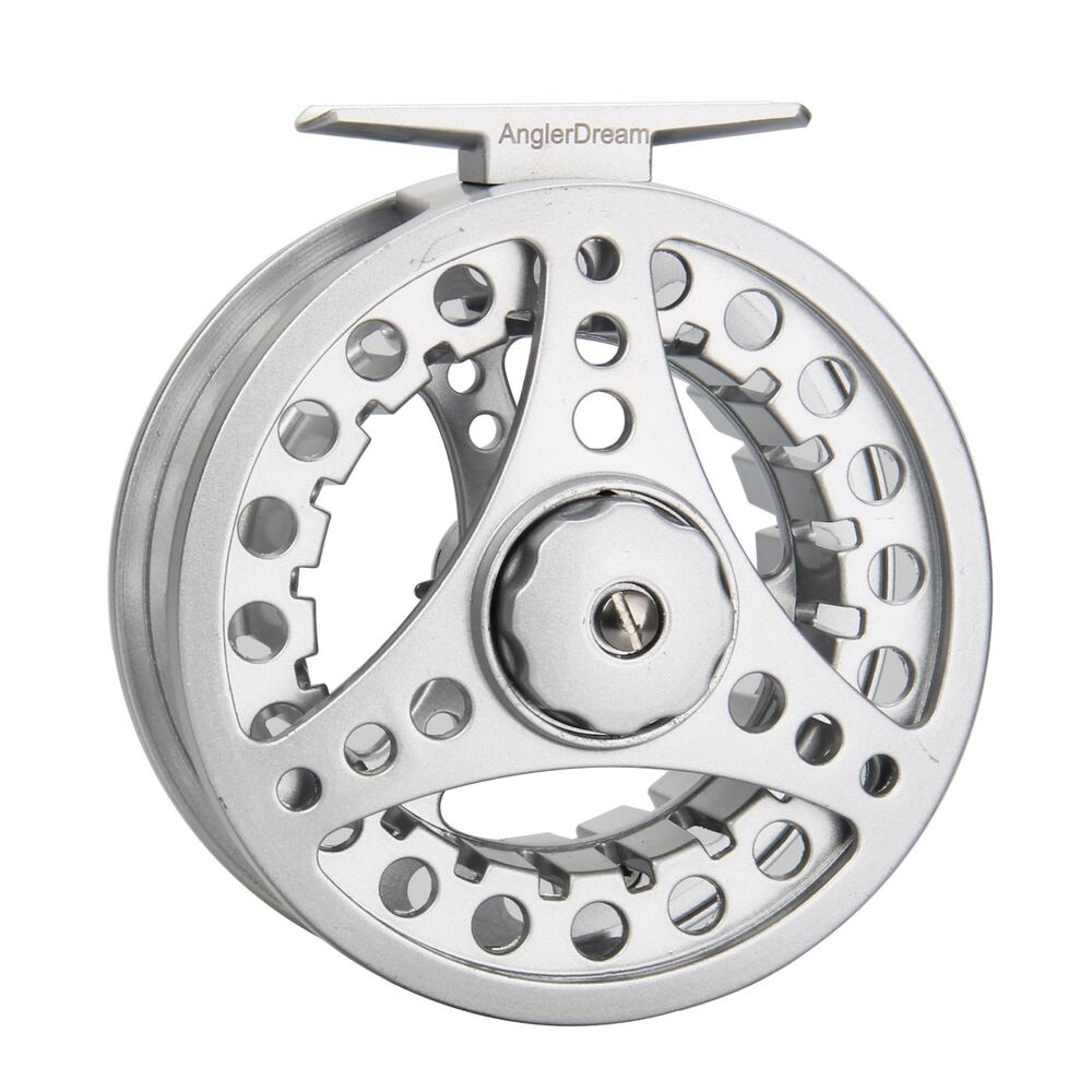 Fly fishing reel combo 1 2 3 4 5 6 7 8wt large arbor for Fishing line on reel
