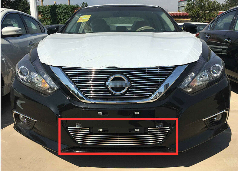 Front Grille Around Trim For 2016 2017 Nissan Altima Full