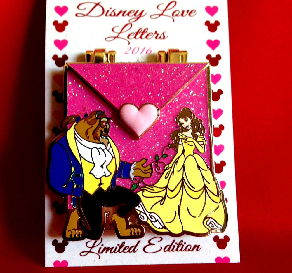 Disney Pins 2016 Beauty And The Beast Belle Limited