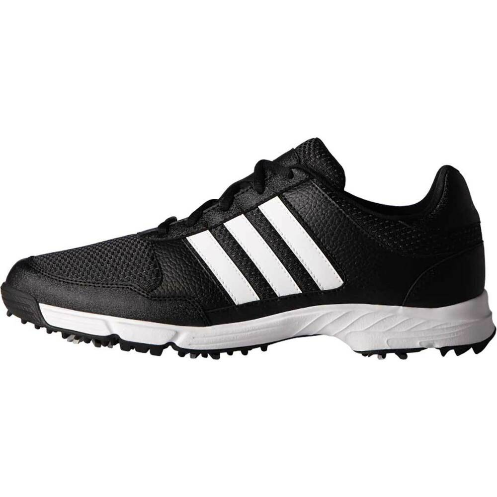 Black And White Adidas Golf Shoes