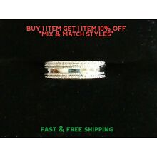 New Toe Ring Sterling Silver Plated  - Braided Band - USA Seller