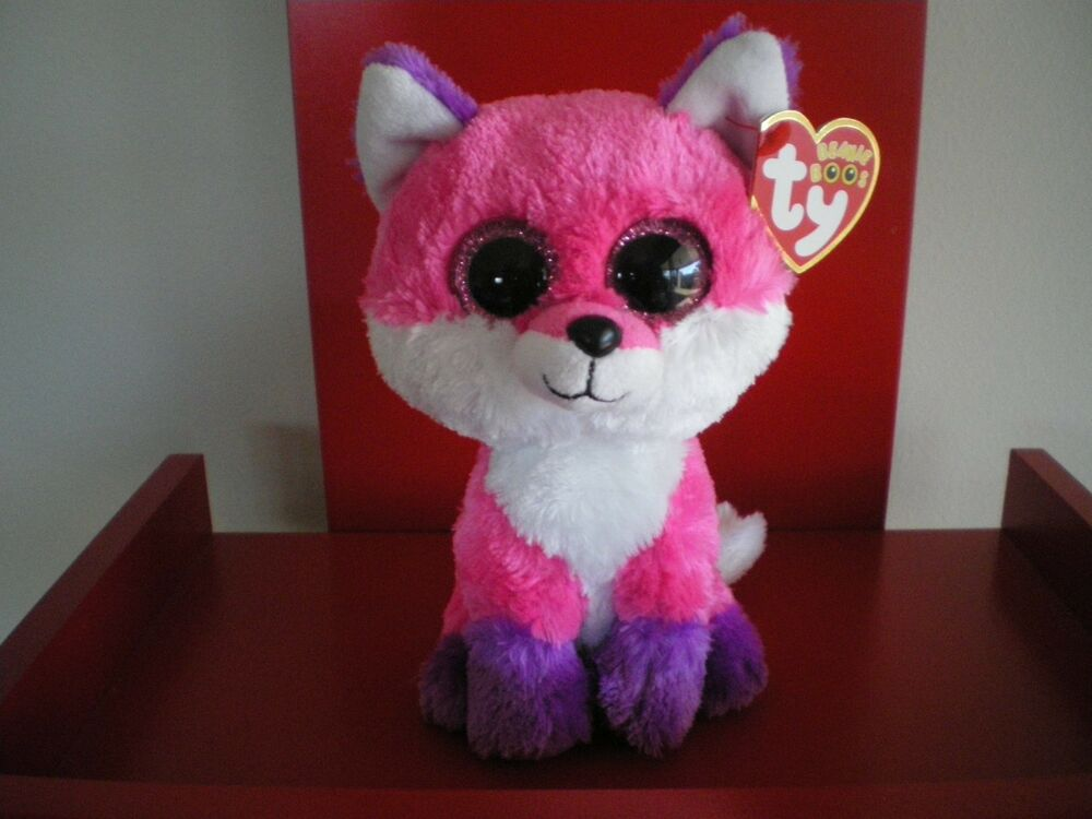 Details about Ty Beanie Boos JOEY the fox 6 inch NWMT.Claire s Exclusive.LIMITED  QUANTITY. cd2a5ee8ff4