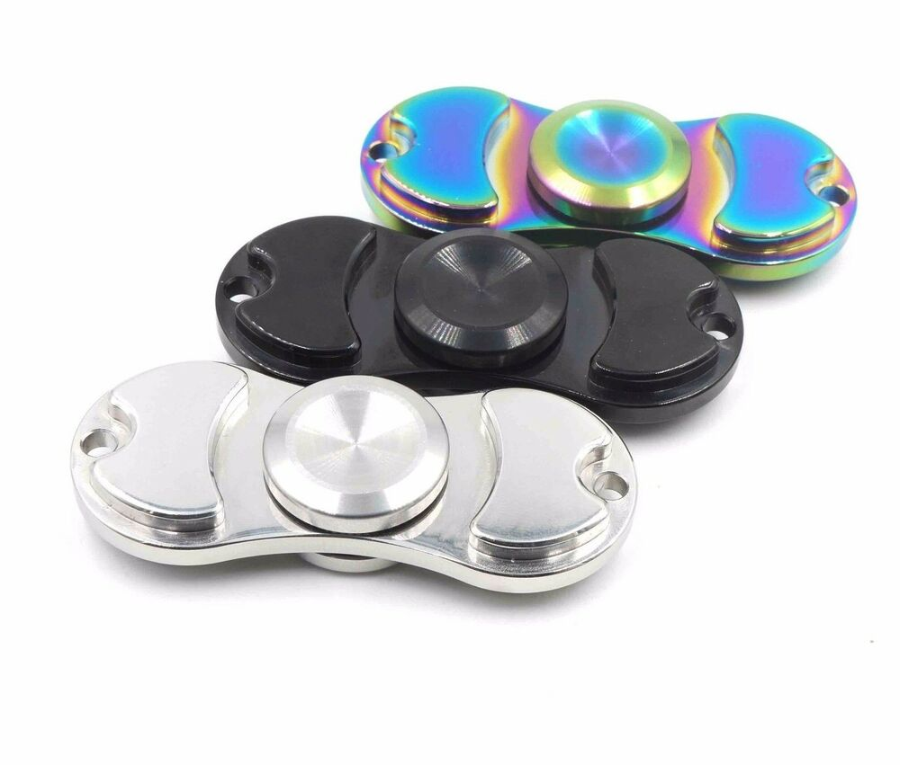 STAINLESS METAL HAND SPINNER FIDGET CERAMIC HYBRID BEARING ...