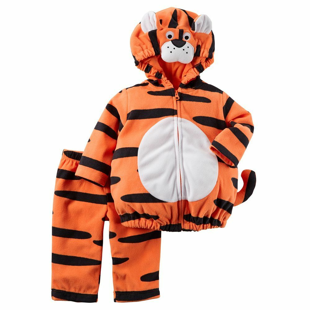 new nwt boys or girls carter's halloween costume tiger 3-6 months | ebay