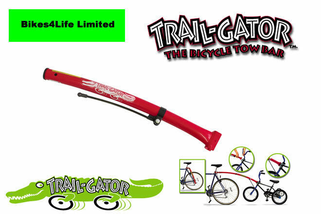 59046df3fb0 Details about Trailgator Bicycle Towbar Bike Cycle Child Kids Trail-Gator  RED