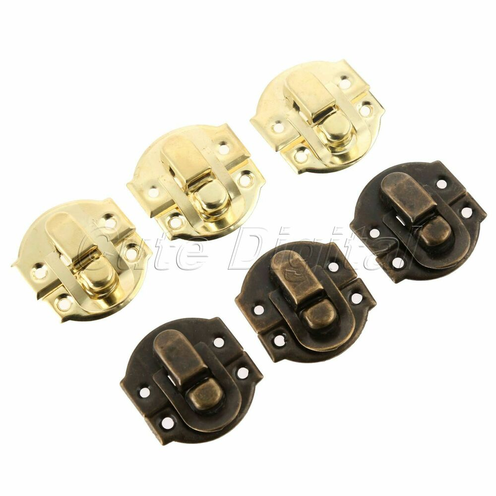 Chests Trunk Latch Clasp Clip Hasp Lock Buckle Jewelry Box