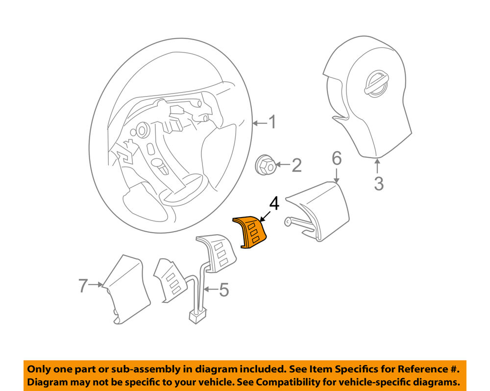 Strange Nissan Oem 08 12 Pathfinder Cruise Control Noivado Switch 25551Zs50A Wiring Cloud Hisonuggs Outletorg